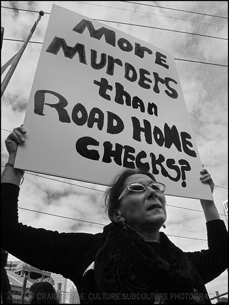 More Murders Than Road Home Checks