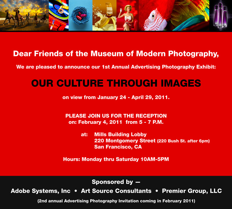Advertising Photography Exhibit