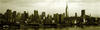New York Winter Skyline - Giclee